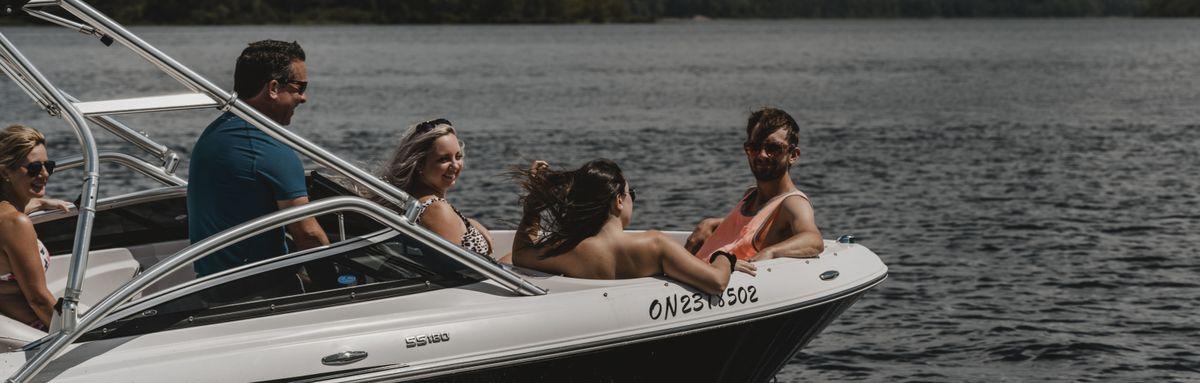 Boat lift - Ottawa river water way